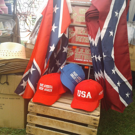 4-H Leader Ejected from Delaware County Fair for photographing Confederate Merchandise