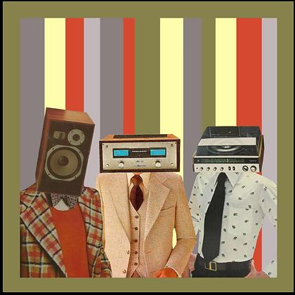 The Pinecones - Ooh! LP Black Vinyl
