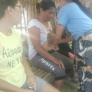 Wellness Program Exercise: Medical Mission, at Olango Island & Lapu-lapu, Mactan