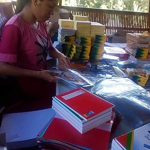 Giving of School Supplies