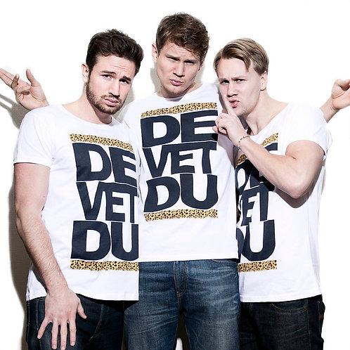 Junior T-shirt De Vet Du vit
