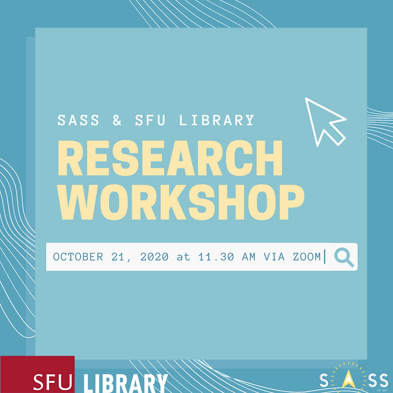 Research Workshop with the SFU Library
