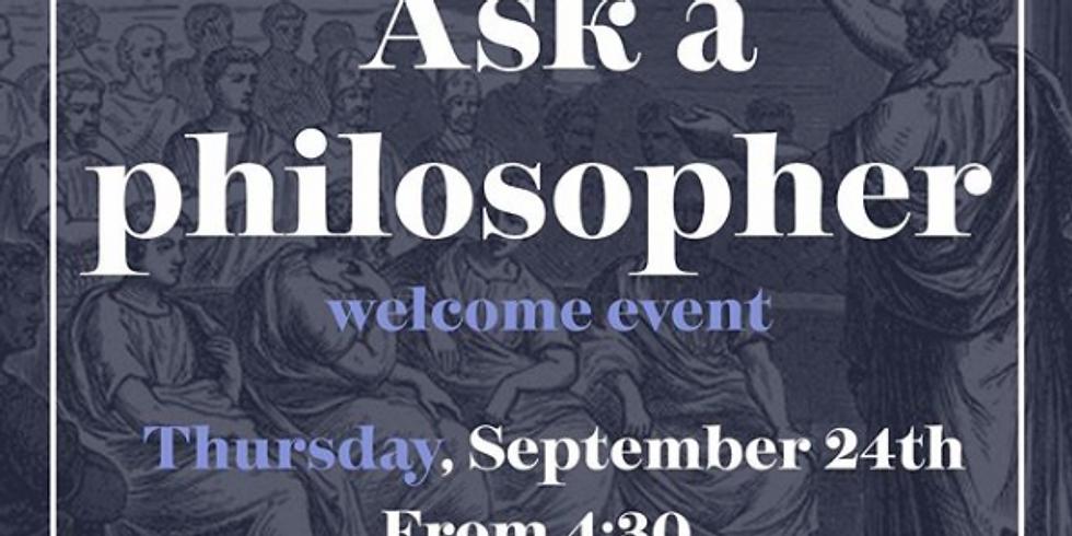 PHIL SU: Ask a Philosopher