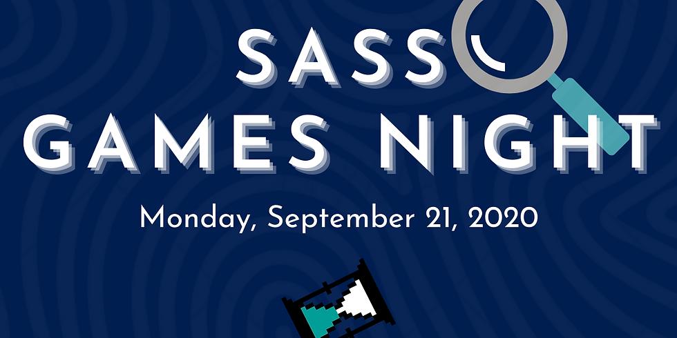 SASS Mystery Games Night