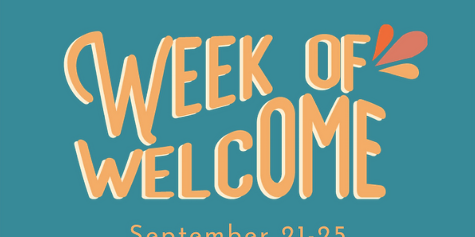 SASS Week of Welcome