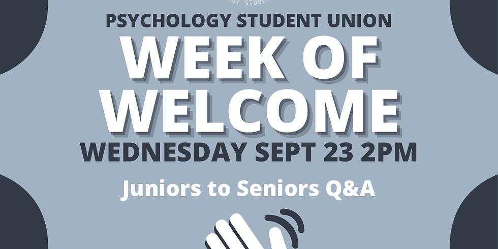 PSYC SU Juniors-to-Seniors Q & A