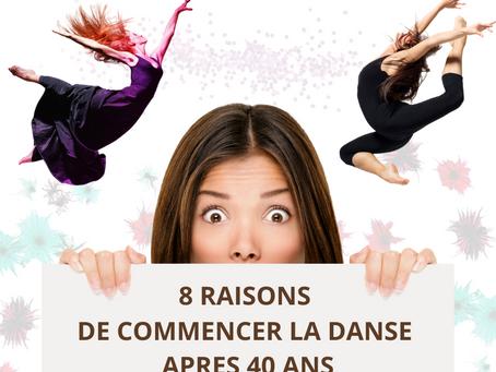 8 RAISONS DE COMMENCER LA DANSE APRES 40 ANS : J'AI TESTE POUR VOUS LE COURS DE MODERN JAZZ!