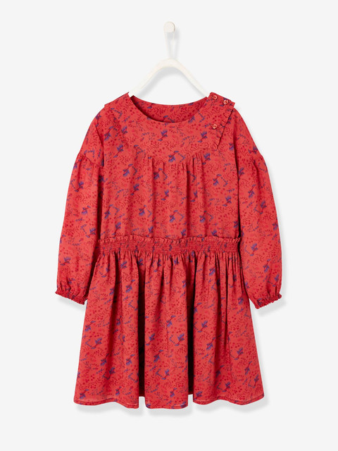robe-fille-imprimee-smockee-taille
