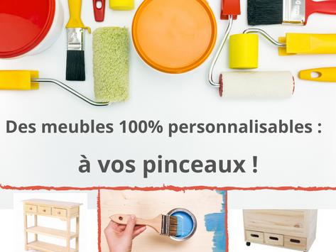 DIY spécial meuble:  en bois brut et 100% personnalisables !