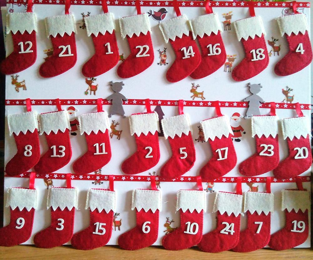 Petits cadeaux pour calendrier de l'avent à moins de 1 euro !!!