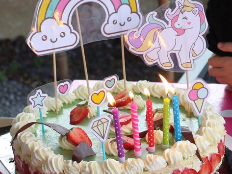 Organiser un anniversaire LICORNE rapide et facile :  idées et astuces!