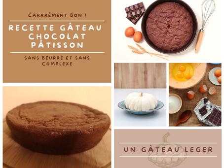 Exclusivité : la recette du gâteau au chocolat pâtisson, sans beurre, simple et carrément bon !