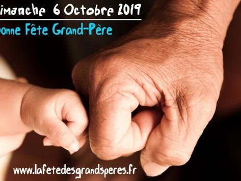 La fête des grands-pères c'est dimanche 6 octobre ! Idées et cadeaux pour votre papy !!!