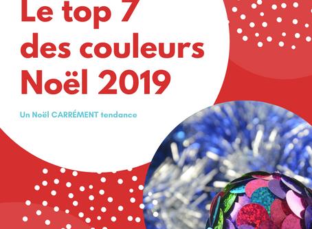 Le top 7 des couleurs de Noël 2019: pour une déco carrément tendance