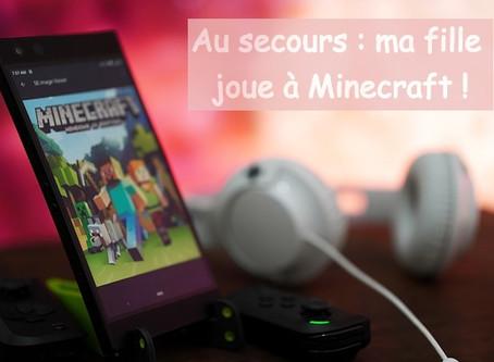 Au secours ma fille joue à Minecraft ! Guide et astuces pour parents désemparés!