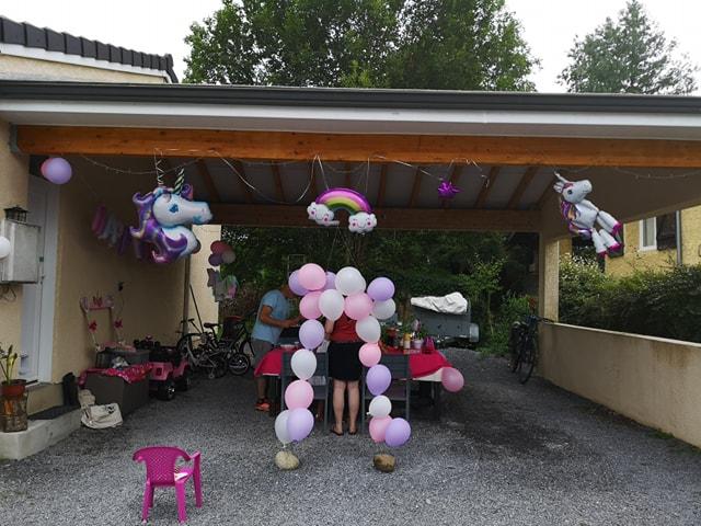 Lots de ballons licorne