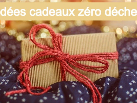 Idées de cadeau éco-responsable zéro déchet pour moins de 20€ ! Originaux, utiles et réutilisables !