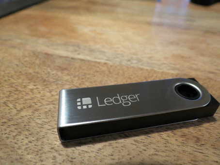 Coffre fort, Ledger Nano S : Bitcoin, Ethereum et Altcoins