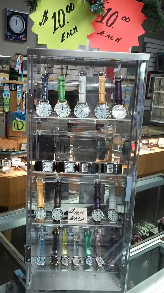 Carrying a wide variety of men's and women's watches has always been an important part of ou
