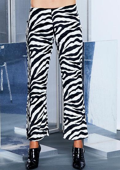 Zebra Pants by Iconic Spice Girls Designer