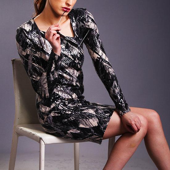 Ponti Jersey Dress