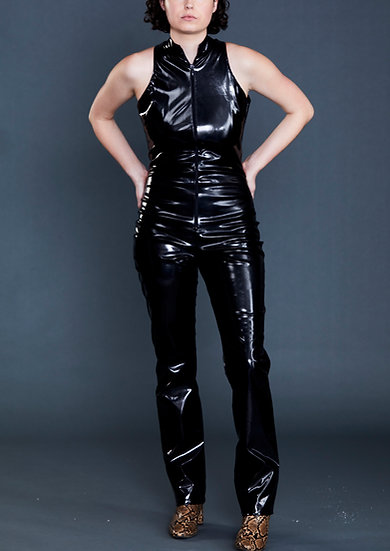 Avenger Style High Neck Catsuit by Iconic Spice Girls Designer