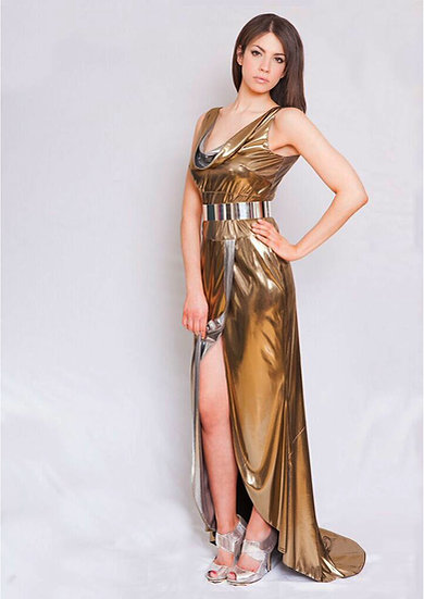 Liquid Gold Gown