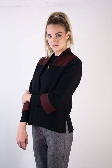 Fully Lined Jacket with Side Splits