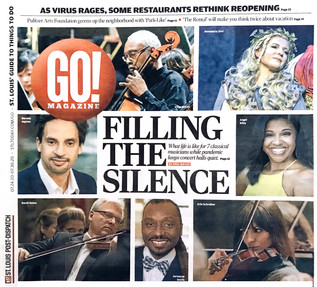 Go! Magazine - St. Louis Post-Dispatch: Filling the Silence