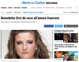 Benedetta Orsi dà voce all'amore francese