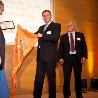 Cérémonie de remise du Pavillon Orange à la ville de Toulon
