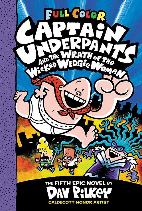 Captain Underpants #5 Color Edition