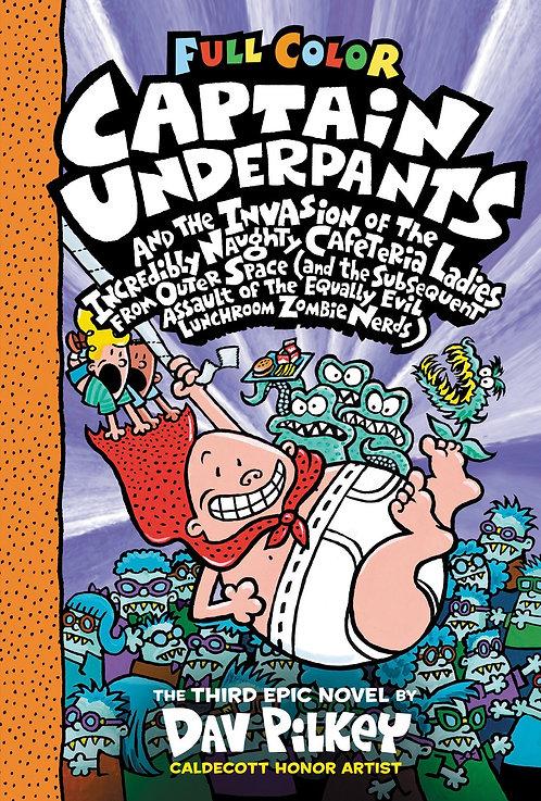Captain Underpants #3 Color Edition
