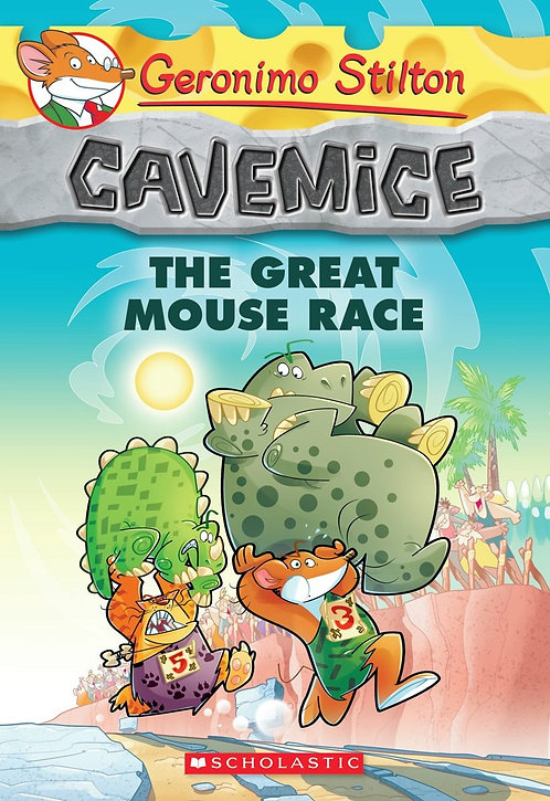 Geronimo Stilton Cavemice #5: The Great Mouse Race