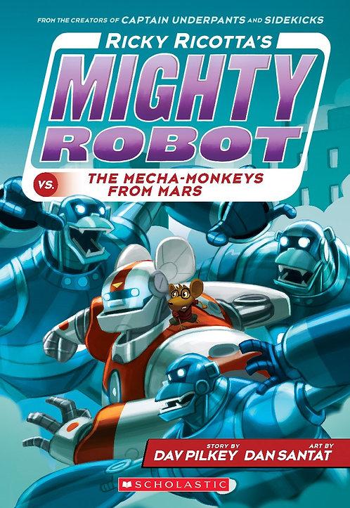 Ricky Ricotta's Mighty Robot vs. the Mecha-Monkeys from Mars #4)