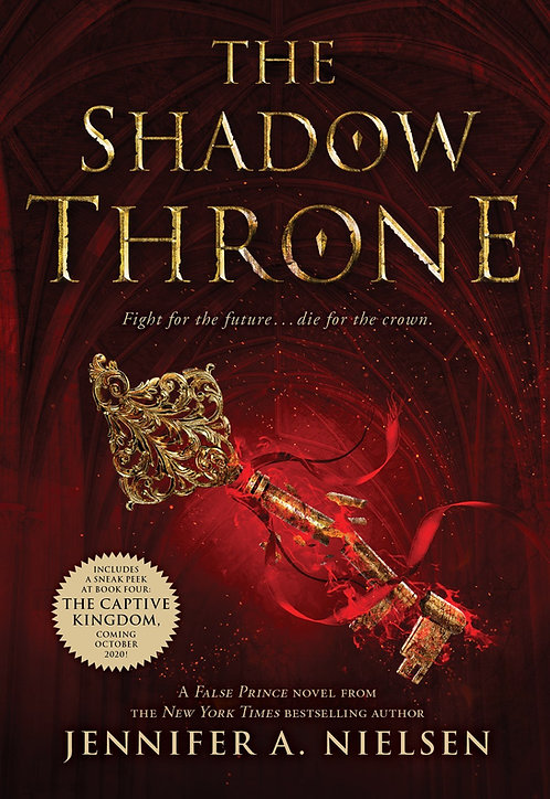 The Shadow Throne (The Ascendance Series, Book 3)