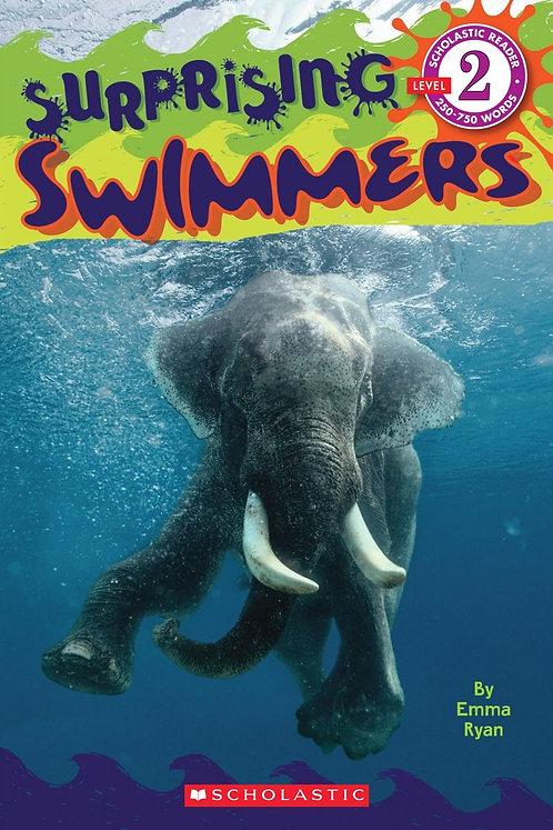 Scholastic Reader Level 2: Surprising Swimmers