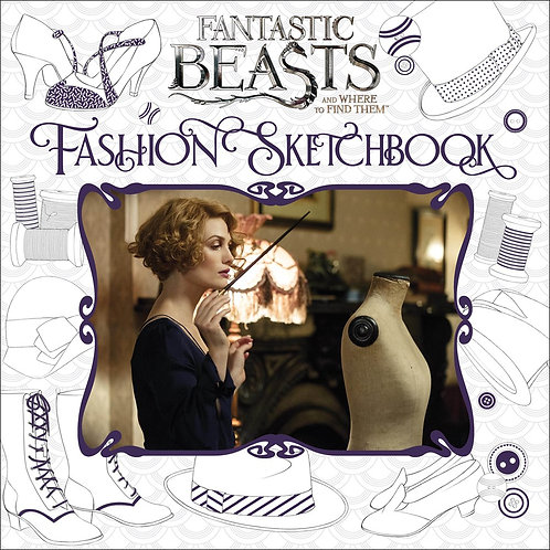 Fashion Sketchbook (Fantastic Beasts and Where to Find Them)