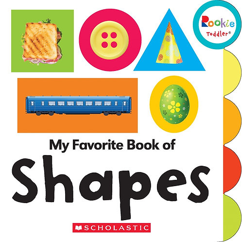 My Favorite Book of Shapes (Rookie Toddler)