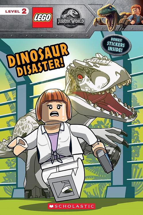 Dinosaur Disaster! (LEGO Jurassic World: Reader with Stickers)