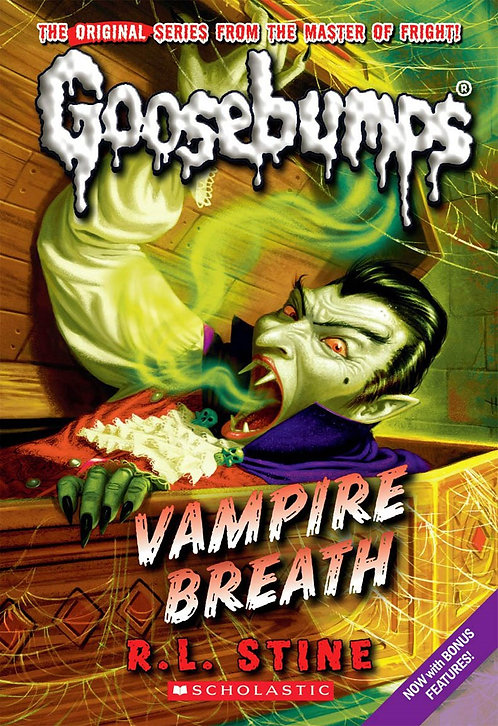 Vampire Breath (Classic Goosebumps #21)