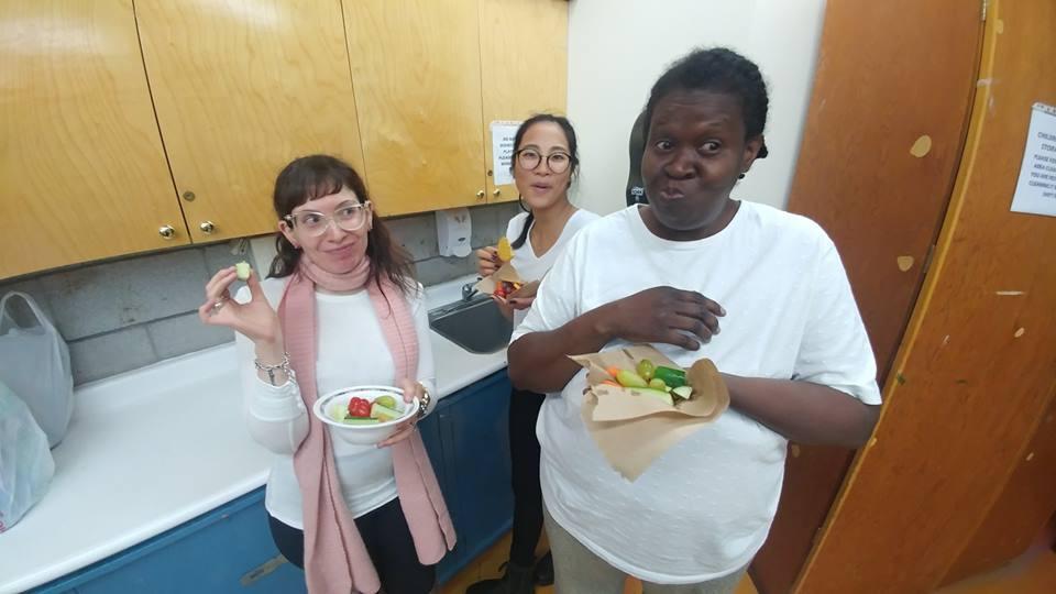Learners enjoying snack.jpg
