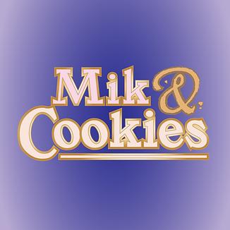 Purple Mik & Cookies logo