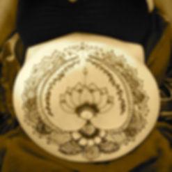 mehndi pregnancy, henna belly kauai