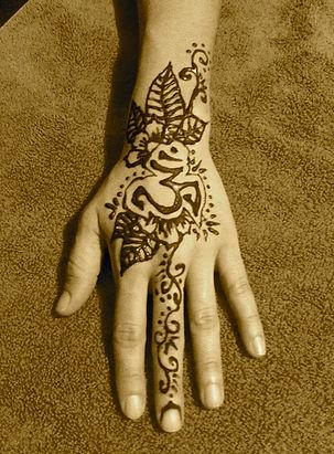 henna bride kauai