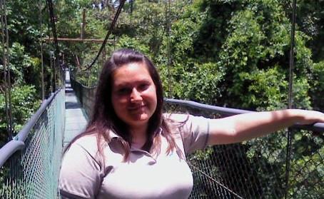 Alejandra Varela y el Parque Nacional Volcán Irazú.