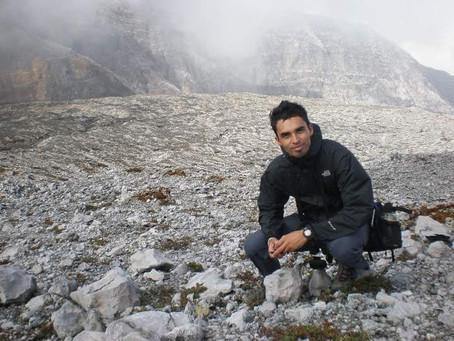 Stanley Prendiz- Educador ambiental de Fundecor desde hace 8 años.