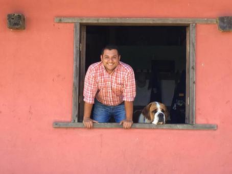 Luis Diego Jiménez, administrador de Corso Lechería