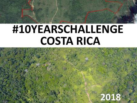 #10YEARSCHALLENGE Costa Rica, un Laboratorio Vivo