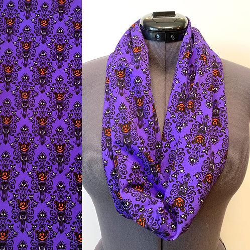 Haunted Mansion Mickey Scarf